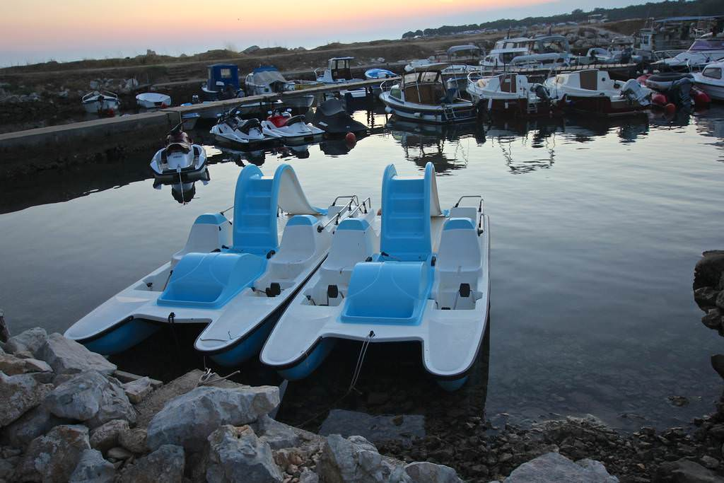 Aquarius mini marina Porec pedaline